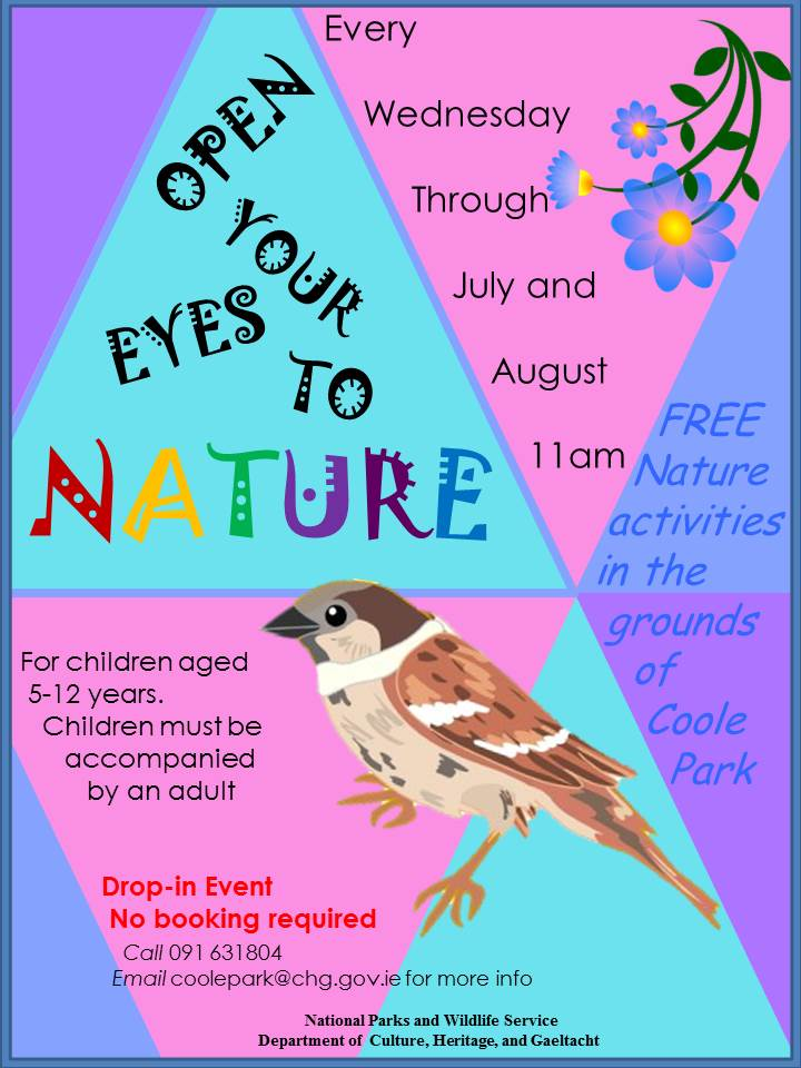Open Your Eyes Event Poster 2019