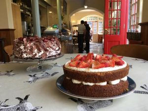 Cake Selection at Coole Park Tea Rooms