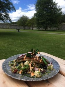 Lunch Dish at Coole Park Tea Rooms